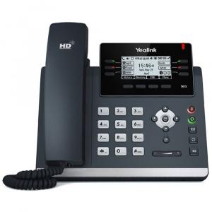 TELEFONO YEALINK IP POE T41S CERT. O365 SKYPE 1