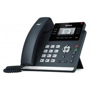 TELEFONO YEALINK IP POE T42S CERT. O365 SKYPE 1