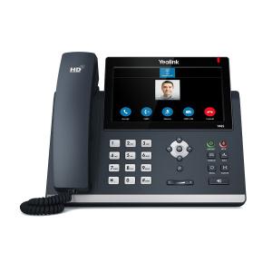 TELEFONO YEALINK IP POE T48S CERT. O365 SKYPE 1