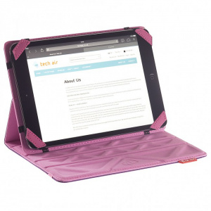"FUNDA TECHAIR TABLET 10.1"" REVERSIBLE ROSA PURPURA 1"