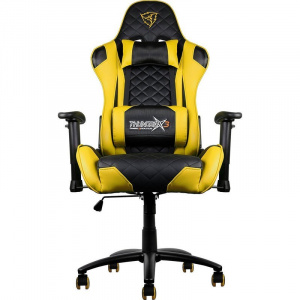 SILLA GAMER THUNDERX3 TGC12BY NEGRO AMARILLO 1