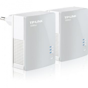 ADAPTADOR RED TP-LINK KIT 2X PLC 500MBPS 1