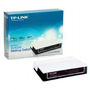 SWITCH TP-LINK 16 PUERTOS NO GESTION, NO RACK 1