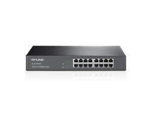 "SWITCH TP-LINK 16 PUERTOS RACK 13"" (KIT NO INCLUYD 1"