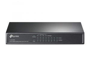 TP-LINK SWITCH  8 PUERTOS GIGABIT 4POE 1