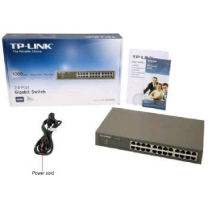 SWITCH TP-LINK 24P 10/100/1000 NO GESTION 1