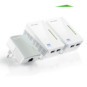 ADAPTADOR RED TP-LINK KIT 3X PLC 300MBPS AV500 WIF 1