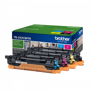 TONER BROTHER TN243 KIT 4 COLORES 1000PG 1