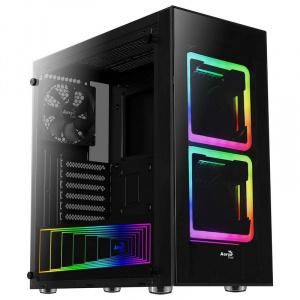 CAJA ATX AEROCOOL TOR USB 3.0 NEGRA 2 VENT RGB 1