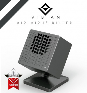 PURIFICADOR DE AIRE VIBIAN AIR VIRUS KILLER NEGRO 1