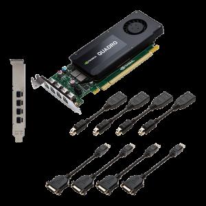 SVGA PNY QUADRO K1200 4GB GDDR5 1