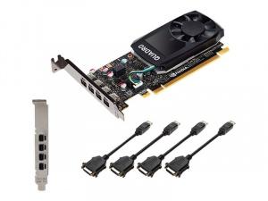 SVGA PNY QUADRO P1000 V2 LOWPROFILE DVI 4GB 1