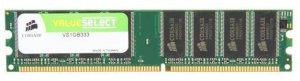 MEMORIA CORSAIR DDR DIMM 1GB 333MHZ 1