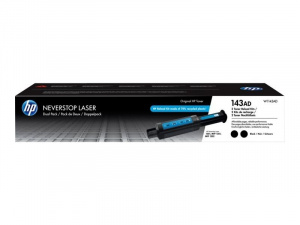 TONER HP 143A NEVERSTOP SERIES  RECA 2.5K PACK 2 1