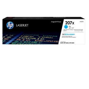 TONER HP 207X  W2211X 2.45K CIAN  M282NW,  M283F 1
