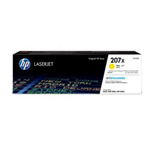 TONER HP 207X  W2212X 2.45K AMARILLO M282NW,  M283 1