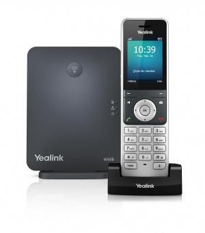 TELEFONO YEALINK IP W60P INALAMBRICO HD DECT 1