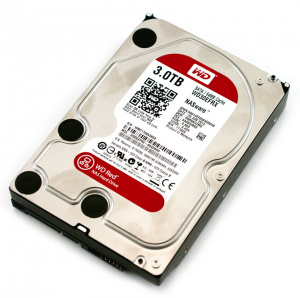 "DISCO DURO 3.5"" WESTERN DIGITAL 3TB SATA3 RED 1"
