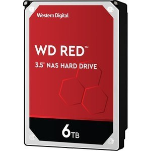 "DISCO DURO 3.5"" WESTERN DIGITAL 6TB RED SATA 600 1"