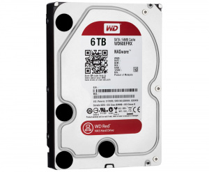 "DISCO DURO 3.5"" WESTERN DIGITAL 6TB SATA3 RED 5400RPM 1"