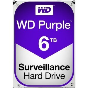 "DISCO DURO 3.5"" WESTERN DIGITAL 6TB  SATA3 PURPLE 1"