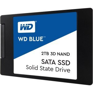 "DISCO DURO SOLIDO SSD WD BLUE 2TB 2.5"" SATA 3D 7MM 1"