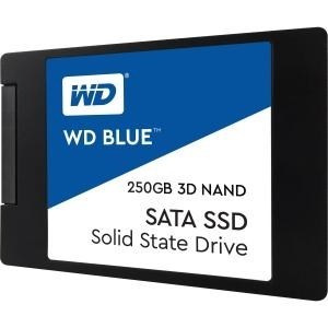 "DISCO DURO SOLIDO SSD WD BLUE 250GB 2.5"" SATA 7MM 3D 1"