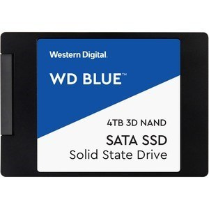 "DISCO DURO SOLIDO SSD WD BLUE 4TB 2.5"" SATA 3D 7MM 1"
