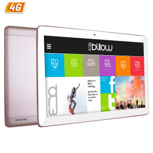 "TABLET BILLOW 10.1"" IPS X104 4G ROSA QC1.2/1+16GB 1"