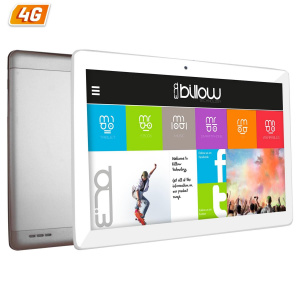 "TABLET BILLOW 10.1"" IPS X104 4G PLATA QC1.2/1+16G 1"