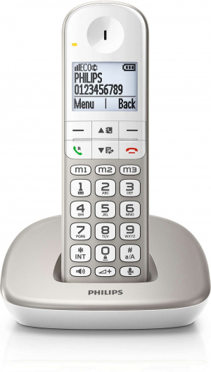 TELEFONO PHILIPS XL490 TECLAS GRANDES COMP. AUDIFO 1