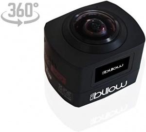 CAMARA DEPORTIVA APPROX XS360PRO 360º BLACK 1